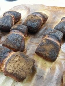 Brötchen verbrannt