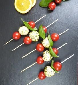 Marinierter Mozzarella