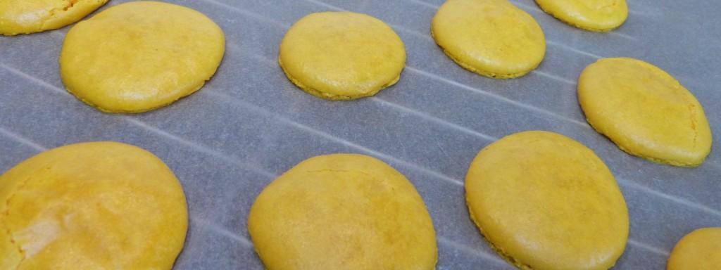 gelbe Macarons
