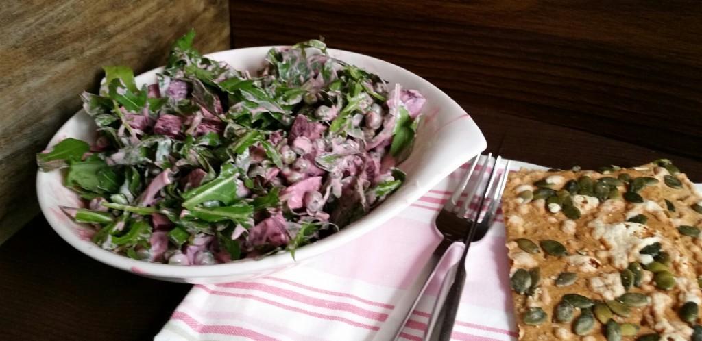 Salat mit roter Bete