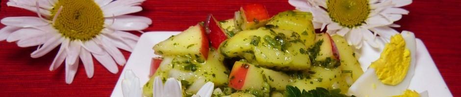 Kartoffelsalat Ei Vinaigrette Kräuter
