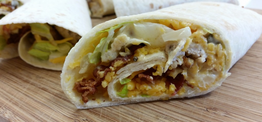 English Chicken Wrap