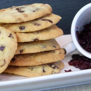 Cookies mit Cranberry und Cashewkernen