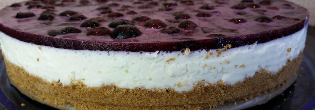 Blaubeer-Käse-Kuchen