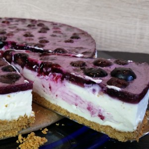 Blaubeer-Quark-Kuchen