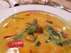 Süßkartoffel-Kürbis-Curry