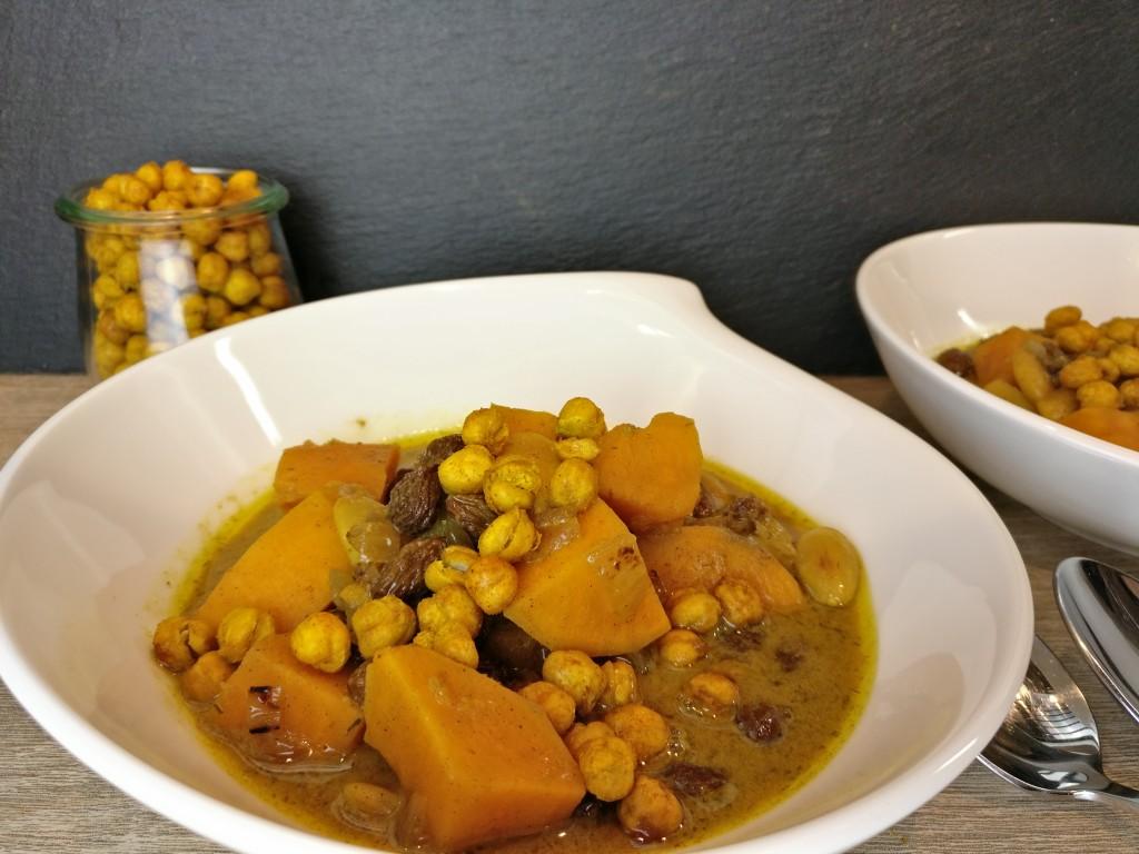 Süßkartoffel-Curry aus dem Crockpot